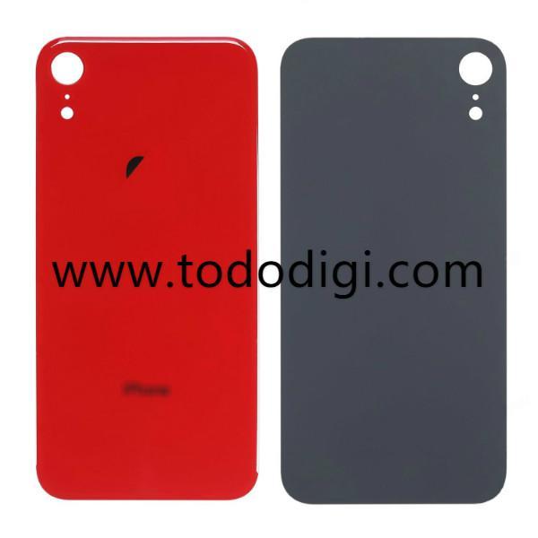 f6b75b36ea7 TAPA TRASERA DE CRISTAL PARA APPLE IPHONE XR 6.1 ROJO - IT Mobile ...