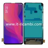 DISPLAY LCD + PANTALLA TACTIL DISPLAY COMPLETO SIN MARCO PARA OPPO FIND X NEGRO ORIGINAL