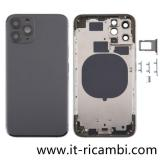TAPA TRASERA PARA APPLE IPHONE 11 PRO 5.8 NEGRO ORIGINAL